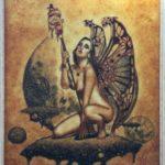 "Картина из янтаря ""Крылья души"""