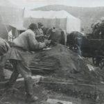 Установка палаток