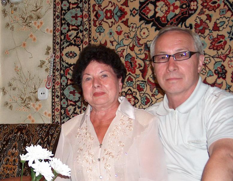 2011 г. Кузнецова Раиса Васильевна и Зямзин Александр - встреча через 50 лет!