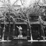 Лениногорский Горно-Металлургический техникум (ЛГМТ). Памятник взорван в январе 1992 г.