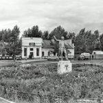 Железнодорожный вокзал Лениногорска. Фото Александра Семенова